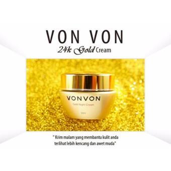 Vonvon 24K Gold Night Cream Original Lejel Home Shoping