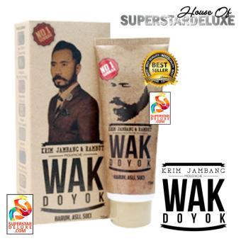 Wak Doyok Original (Krim Penumbuh Jambang & Rambut)