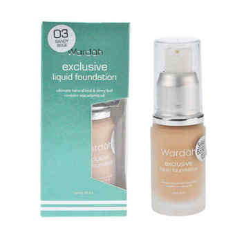 Wardah Exclusive Liquid Foundation - Sandy Beige