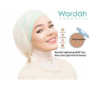 Wardah Lightening Refill Two Way Cake Light Feel 02(Golden Beige)