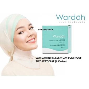 Wardah Refill Everyday Luminous Two Way Cake 12 gr 01 Light Beige