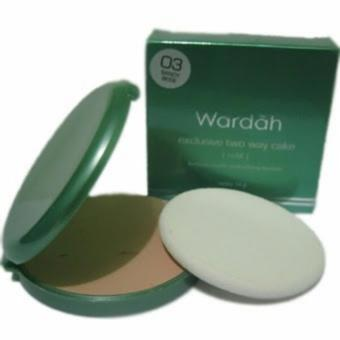 Wardah Exclusive Two Way Cake - 03 Sandy Beige - Refil