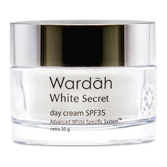 Wardah White Secret Day Cream SPF 35 30gr