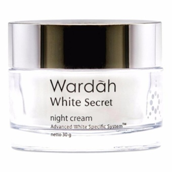 Wardah White Secret Night Cream - 30gr