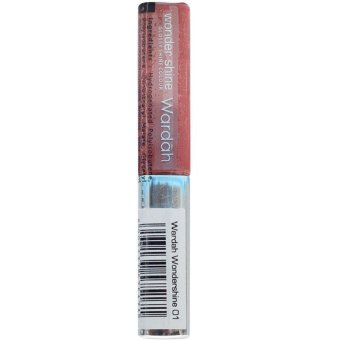 Wardah Wonder Shine 01 - Cinnamon Red