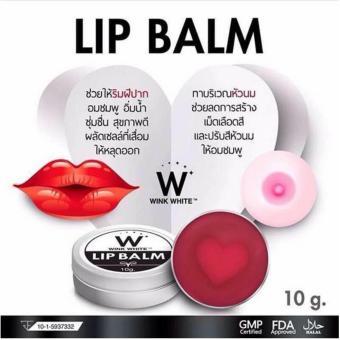 [ WINK WHITE ] LIP BALM / LIPBALM PEMERAH BIBIR 1000% ORIGINAL