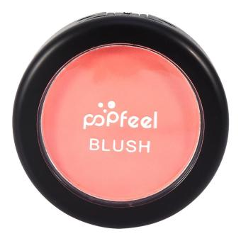 Women Professional Three-in-one Cheek Makeup Set Facial Blush Powder With Brush - intl