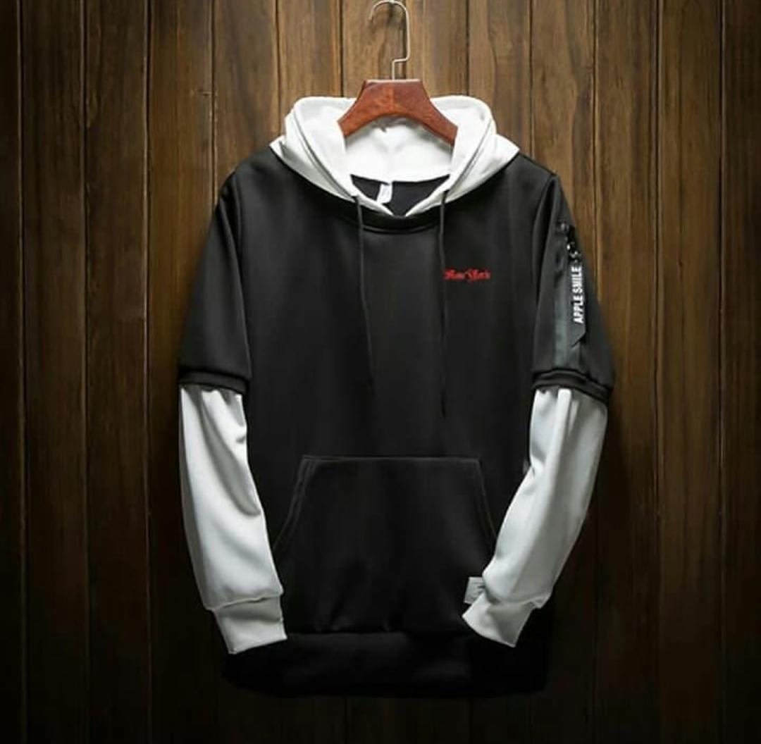 Sweater New York Hoodie Zipper