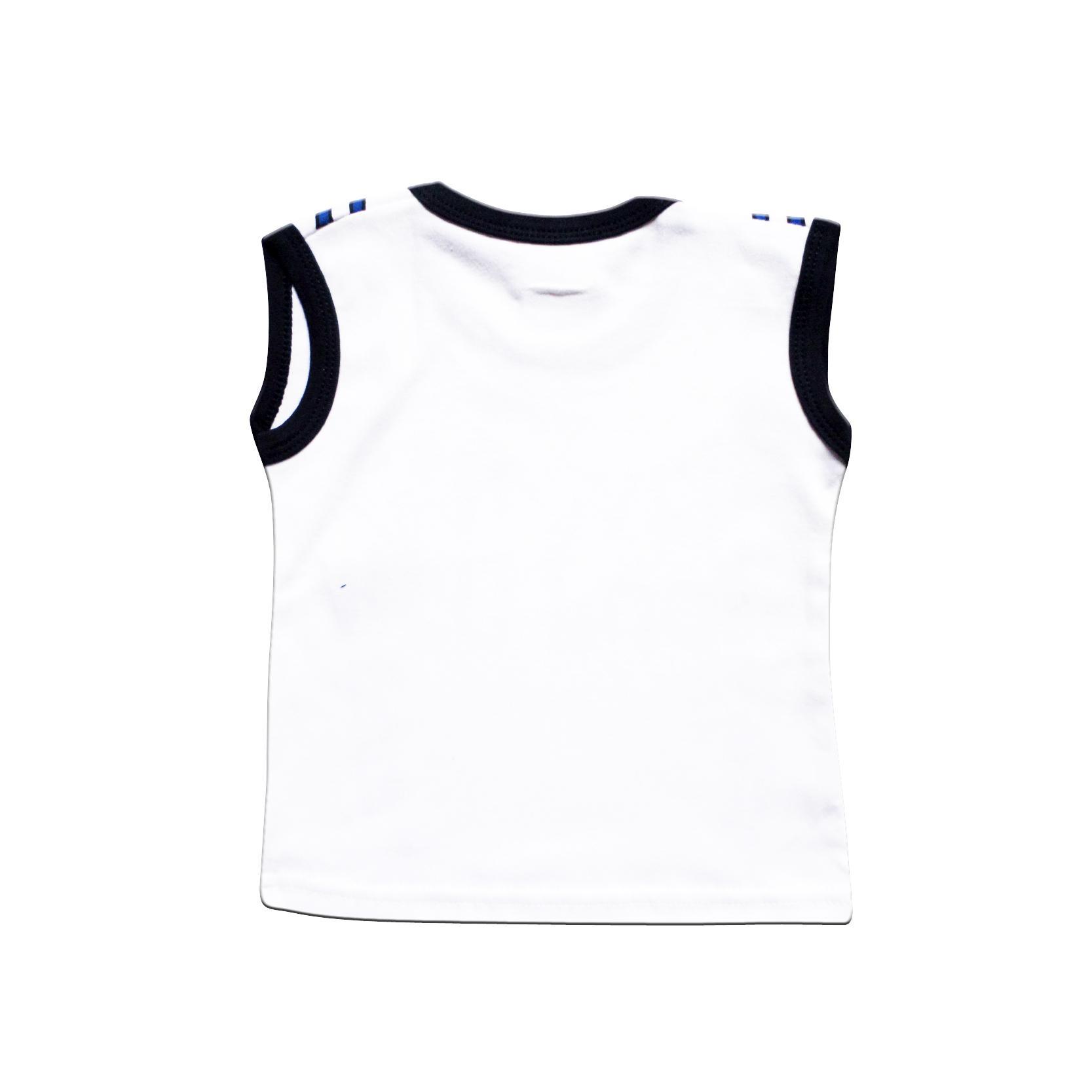 Skabe Baby Putih Baju Singlet Anak Bayi Laki Laki Setelan Kaos 2831 -