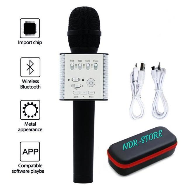 ndr-s mic q9 wireless bluetooth smule karaoke speaker  q9