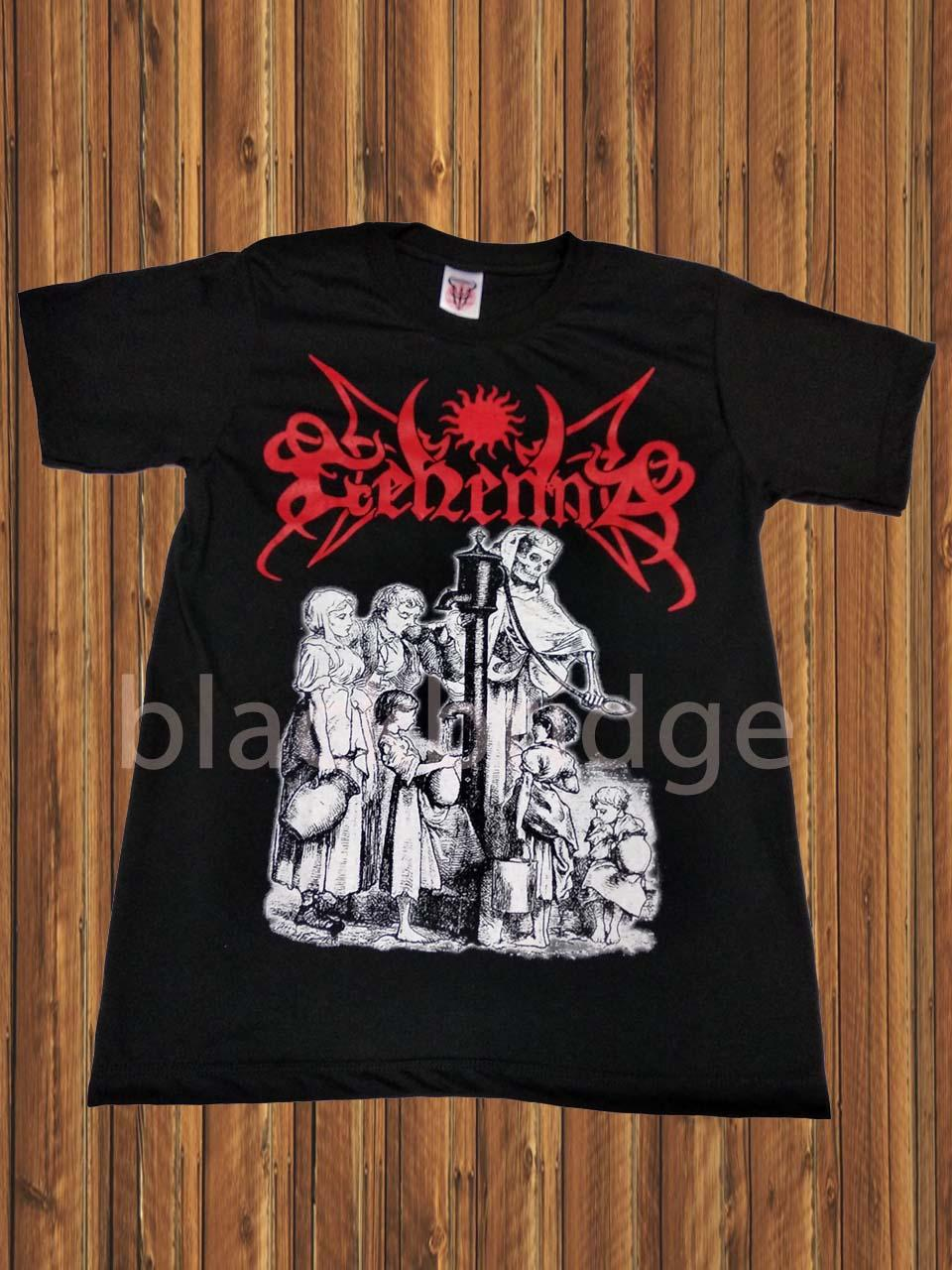 Kaos Pendek / Oblong Band Rock / Metal / Punk PRAPATAN REBEL Murah (Size L) - GEHENNA