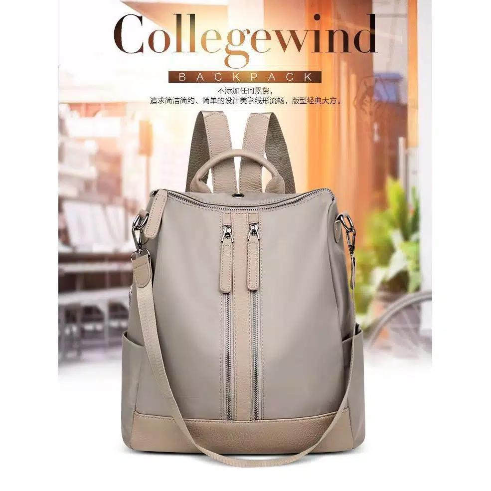 Backpack Ransel Tas Punggung ABG Remaja Wanita Import Korean CS-BP 05