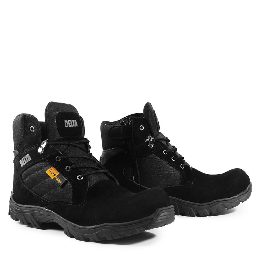 fillah sepatu pria delta sepatu safety pria sepatu safety ujung besi sepatu safety boots pria sepatu delta 6 inchi sepatu pdl sepatu touring sepatu turing sepatu septy sepatu gunung sepatu delta cordura sepatu boots  sepatu boots  f18