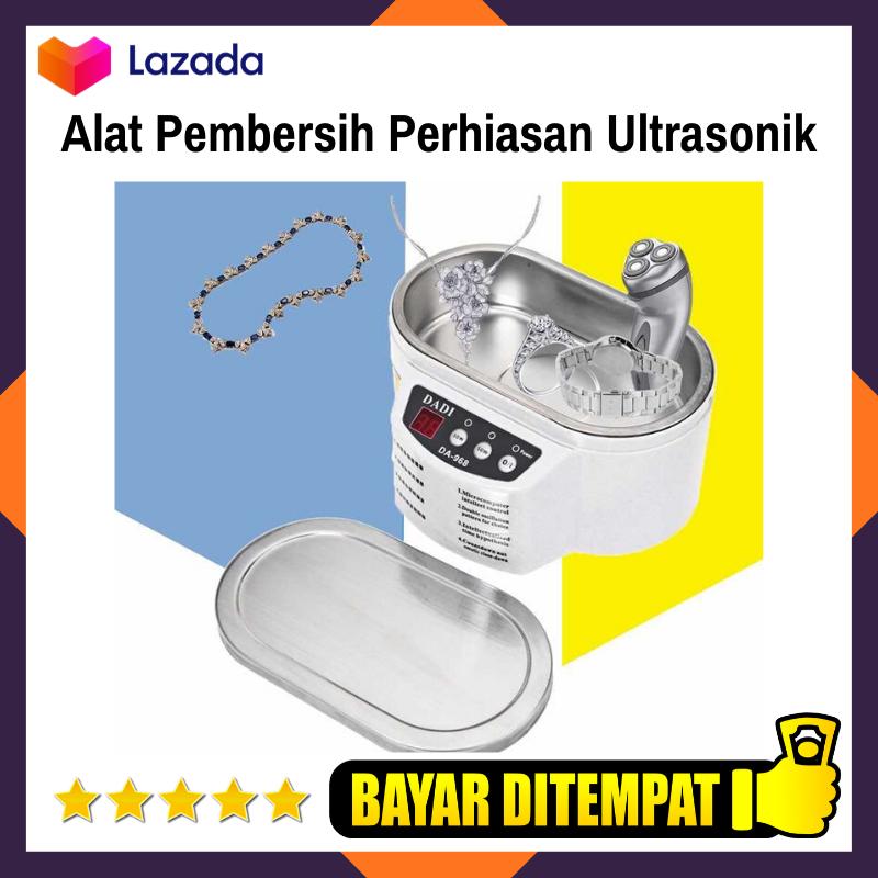mesin cuci perhiasan / alat pembersih noda perhiasan  / mesin pembersih ultrasonik untuk perhiasan / mesin pembersih perhiasan ultrasonic smart cleaner