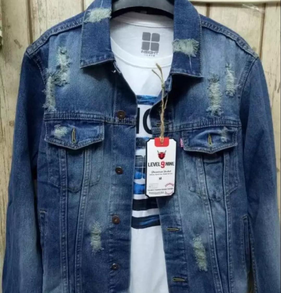 promo/jaket jeans pria levis model tempel tet / jaket jeans pria premium casual pria  terlaris/swf store