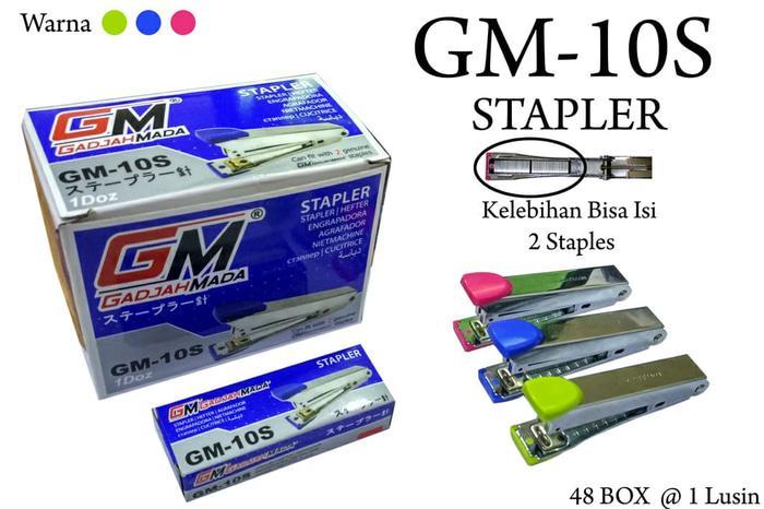 stapler/staples gm10s bisa isi 2 stapless