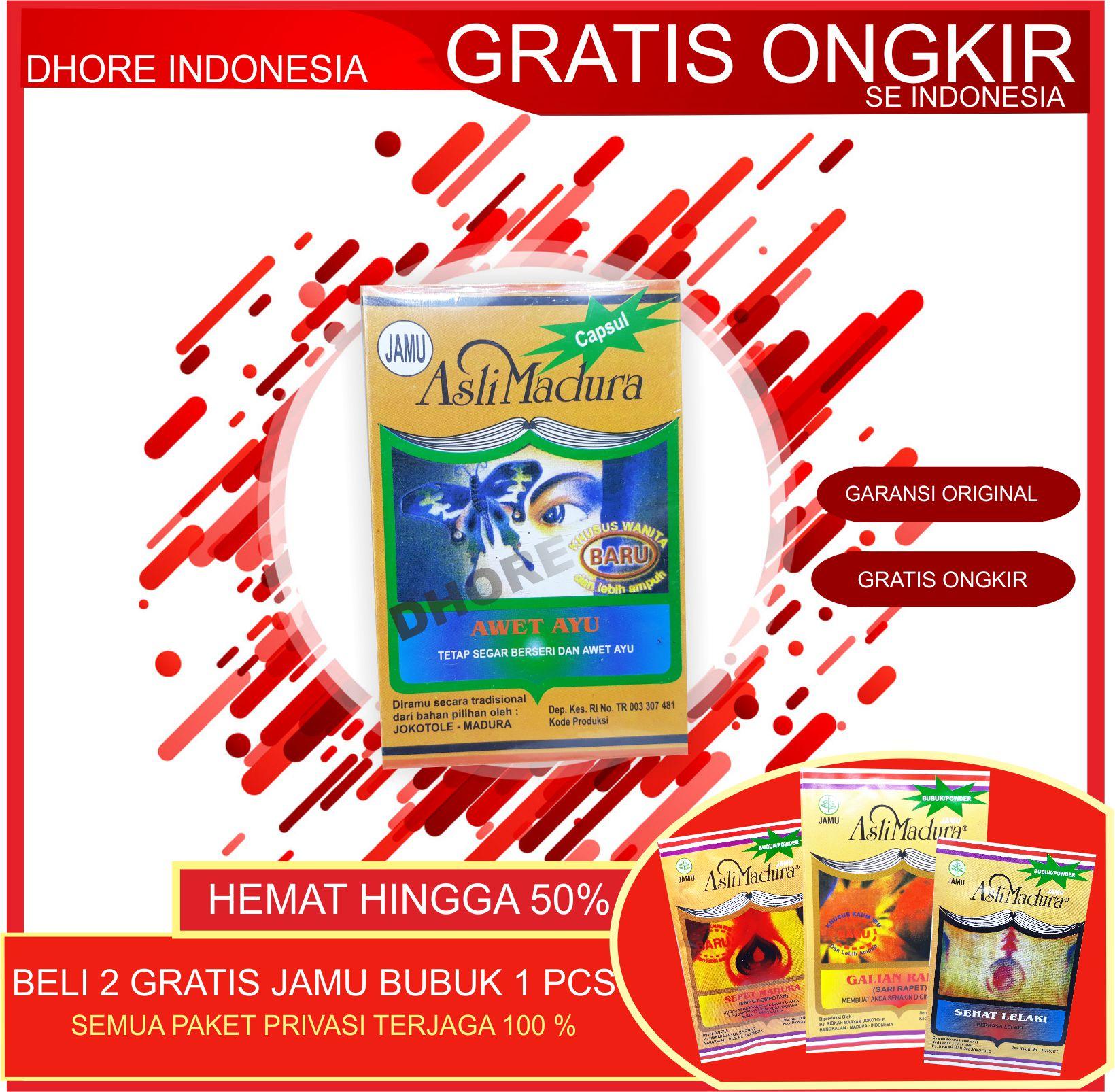 jamu keputihan / obat keputihan /obat tradisional madura / obat manjur / keputihan -original madura terjamin