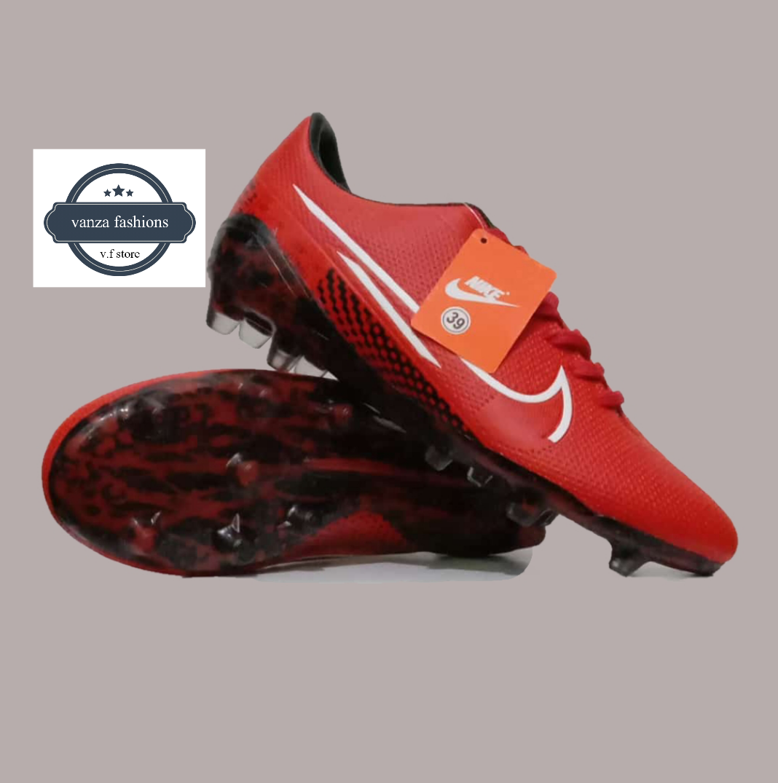 sepatu sepakbola new mercurial bola kaki pria biru
