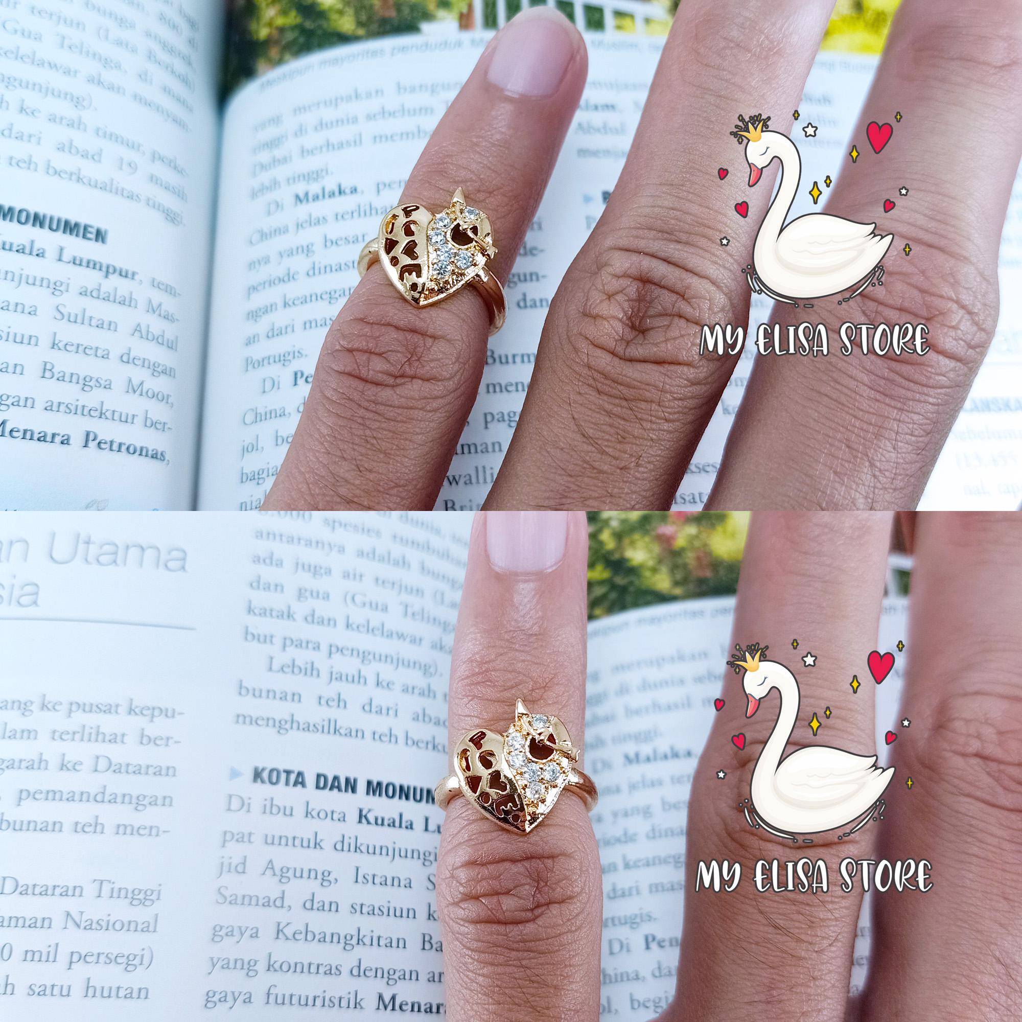 my elisa cincin gold xuping anak balita love cantik 42