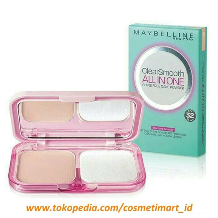 BEST SELLER MAYBELLINE CLEAR SMOOTH BEDAK ALL IN ONE REFILL - PjwJExah - 2 ...