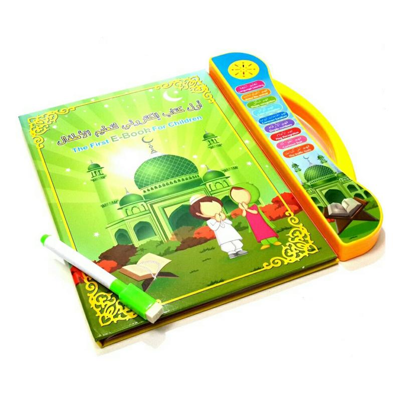 Mainan Anak Muslim - Playpad Ebook Muslim 3 in 1 Apple Quran Tablet .