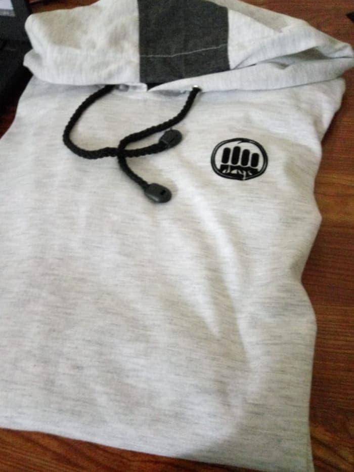 Kaos T-shirt Koko Gamis Pakistan Bahan katun Pria Baju Muslim Terbaru - Gamis Kaos Longline - 2