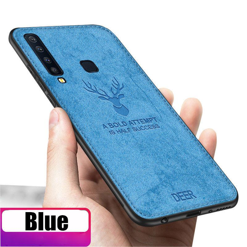 Features For Samsung Galaxy A9 2018 Hybrid Soft Fabric Slim Matte