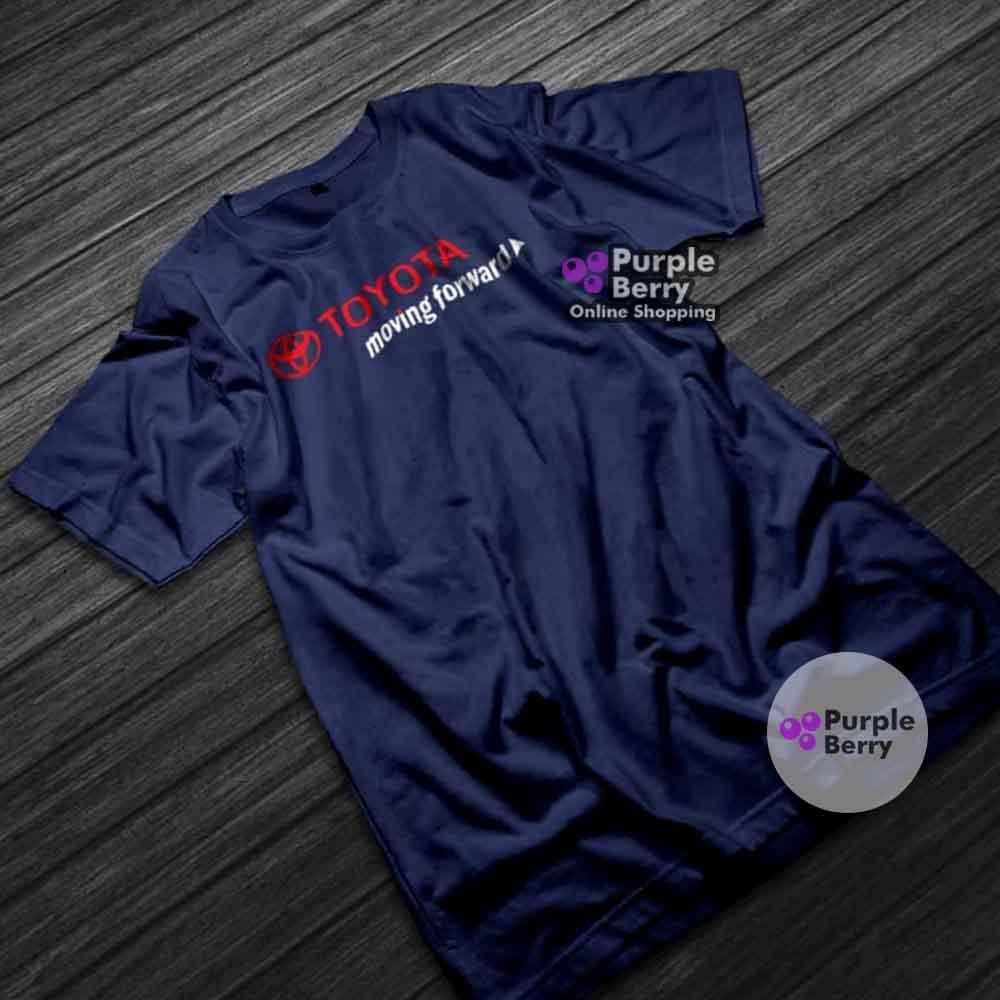 Baju Kaos Mobil Toyota Keep Moving Forward Design - Tshirt Distro Otomotif  Racing  c5c81de14f