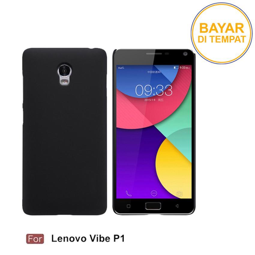 Casing Handphone / Softcase Anti Minyak Baby Skin Case Black Matte Ultra slim Untuk Lenovo P1