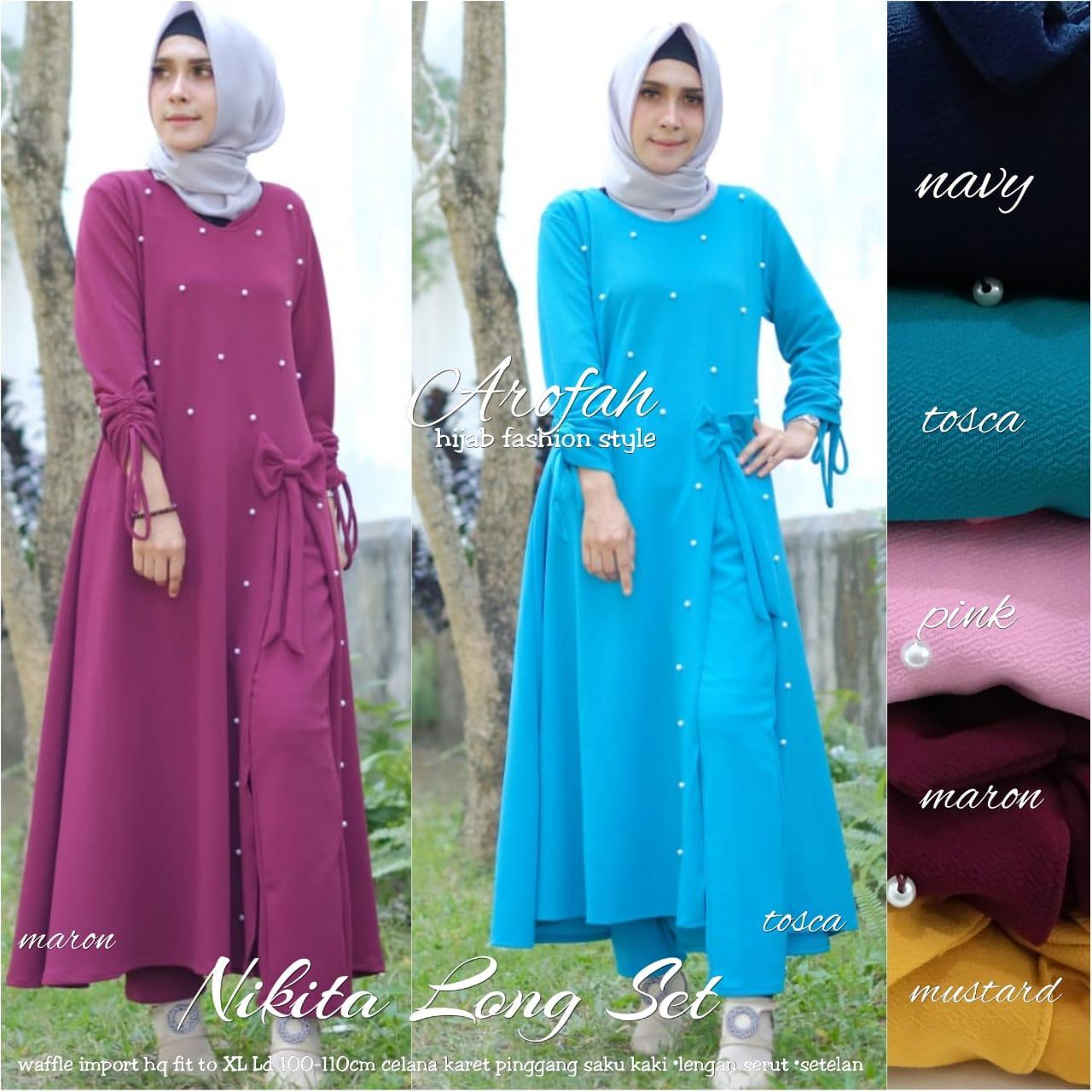 Review Nikita Long Tunik Baju Tunik Modern Tunik Modern Baju Tunik