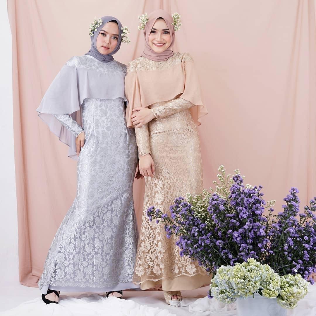 Review Rahayu Milky Maxy Dress Baju Wanita Gamis Baju Terusan