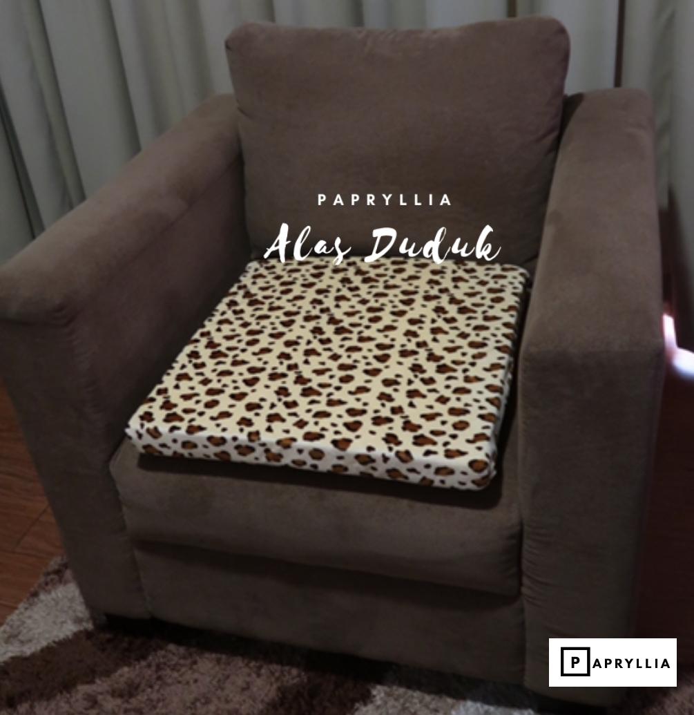 papryllia – alas duduk sofa / bantal duduk kursi 50x50cm tebal busa 5cm