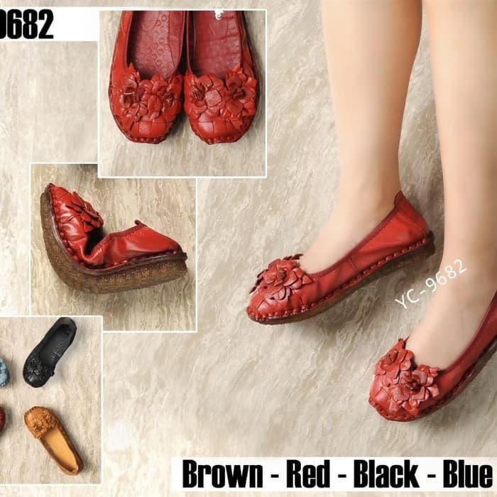 8aaa2f0f Review Terfavorit Sepatu Wanita Sepatu Kerja Clarks Flat Yc ...