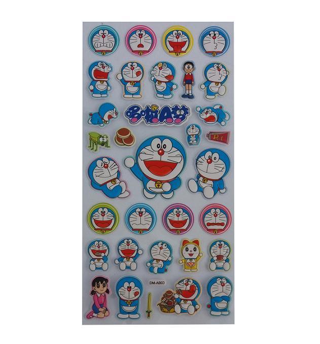 Karakter Stiker Dekoratif Mini KR-0610