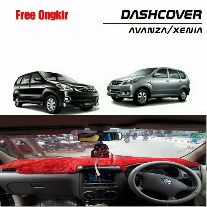 cover dashboard mobil avanza & xenia lama 2004 –  (bulu rasfur)