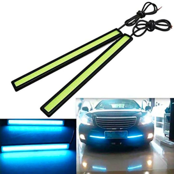 sepasang lampu drl 17 cm led plasma 12 volt buat lampu kolong mobil /dashboard /grill depan lampu kolong motor  satu set isi 2pc