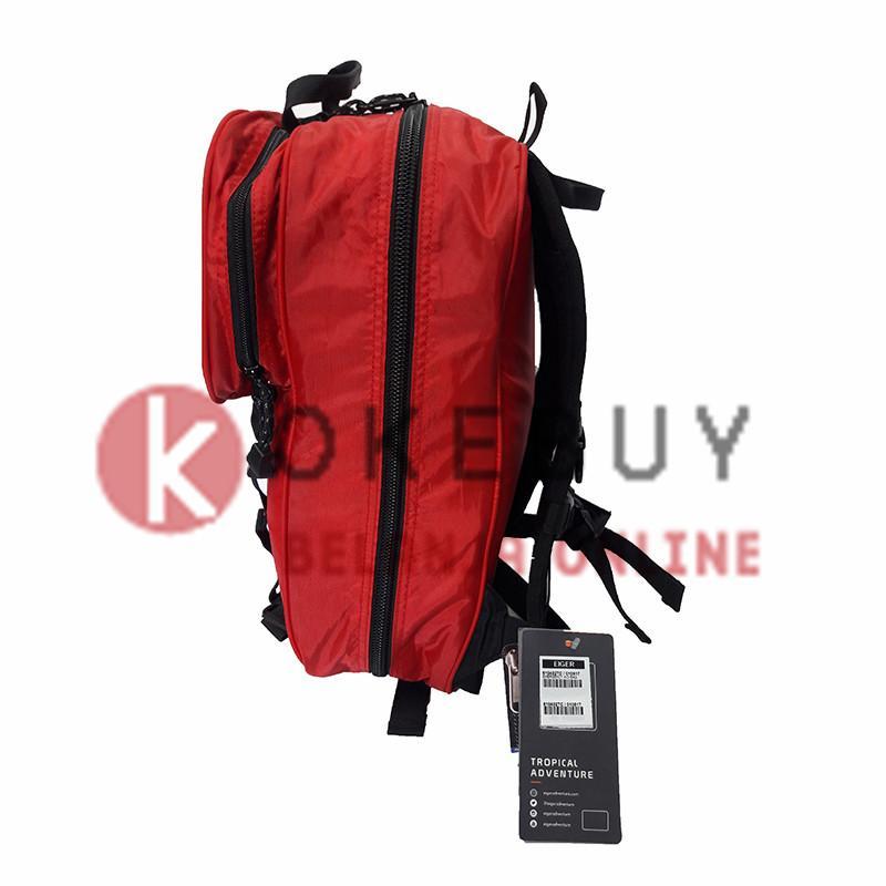 Detail Gambar Tas P3K / Tas Obat 6104 Eiger Emergency Aid SYS Ransel / Backpack Tas Pria Tas Wanita - Red Terbaru