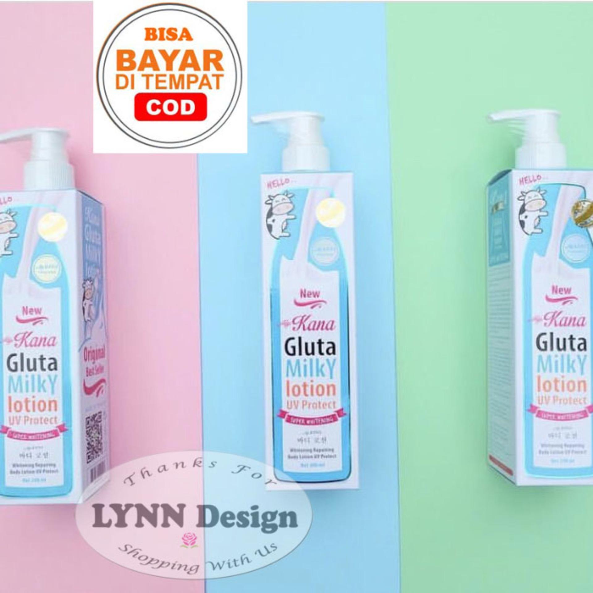 gluta milky lotion by kana original