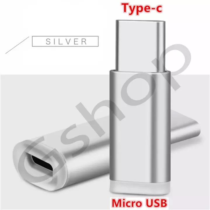gshop usb 3.1 type-c male to micro usb female converter connector data adapter