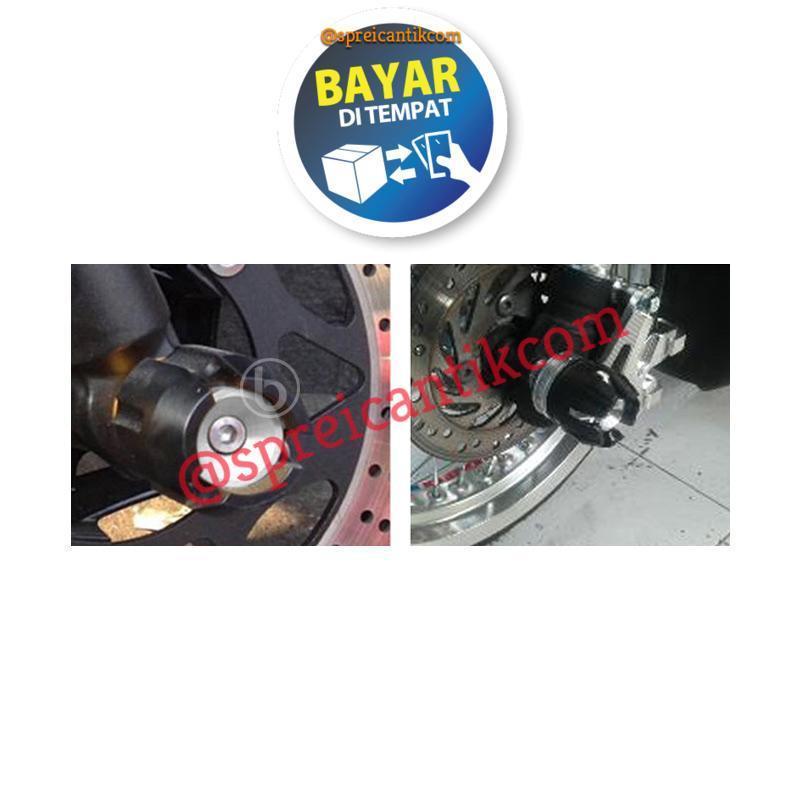 ... Jalu As Roda Depan CNC Model Bulat - SILVER - 4