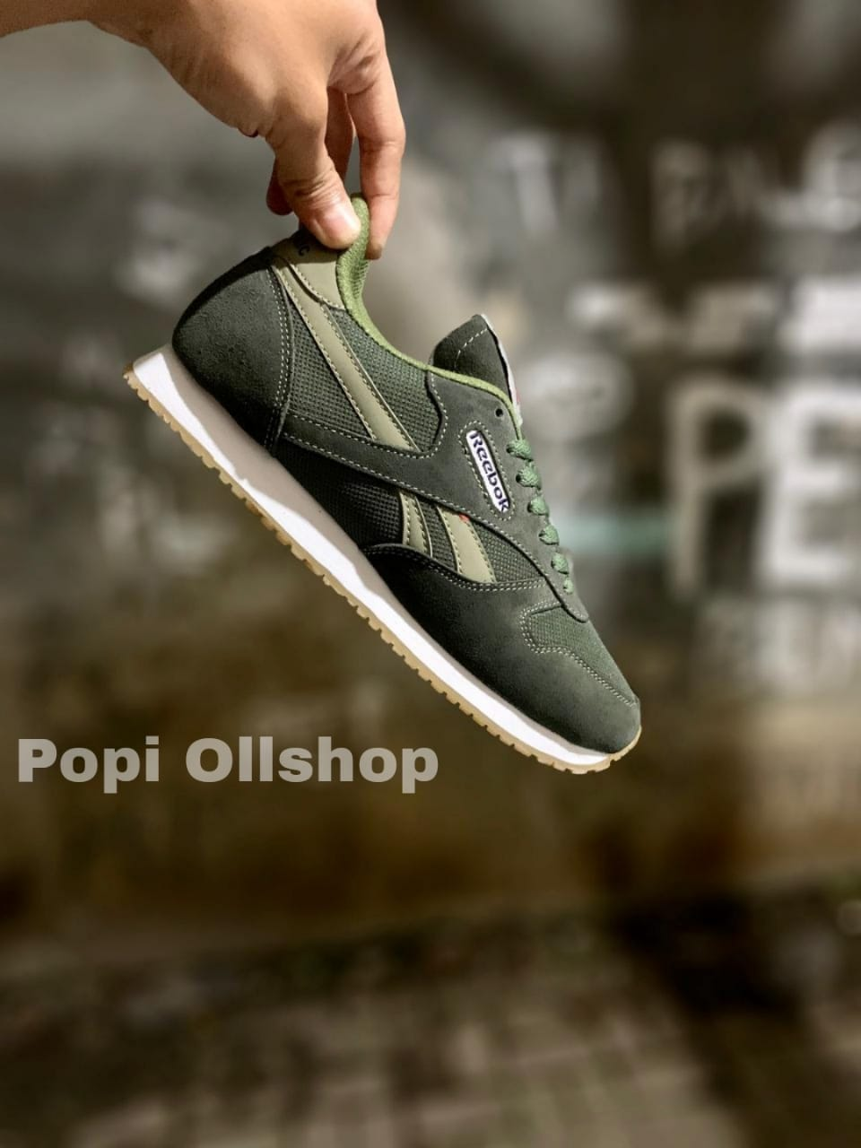 sepatu premium pria high quality –  keluaran  – popi ollshop