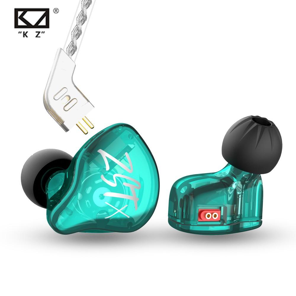 kz zst x 1ba+1dd earphone in-ear hifi bass earbuds zstx zsn pro x
