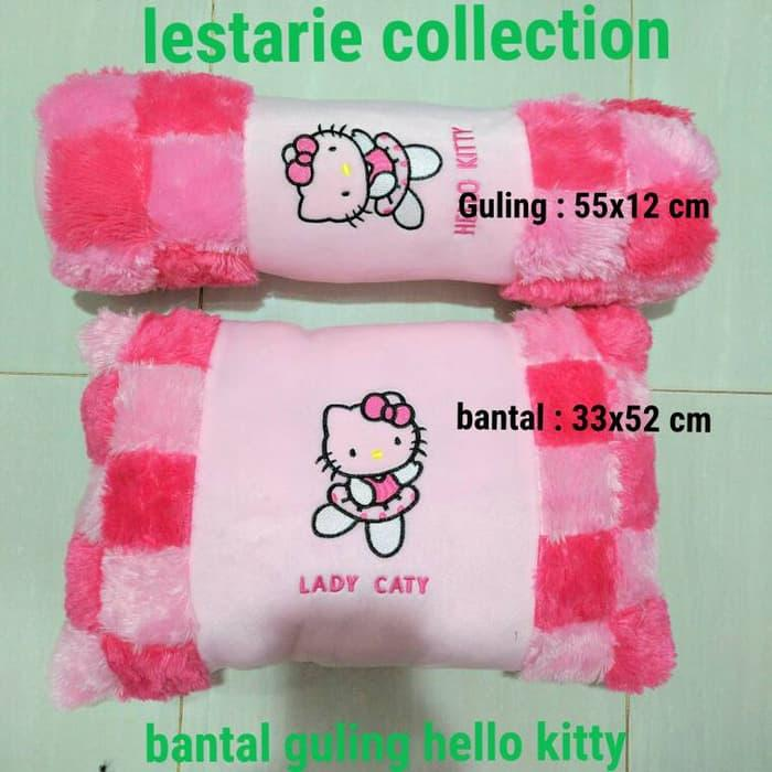Bantal Hello Kitty/Bantal Anak/Bantal Lucu/Bantal Guling Hello Kitty (Boneka AB 3313)