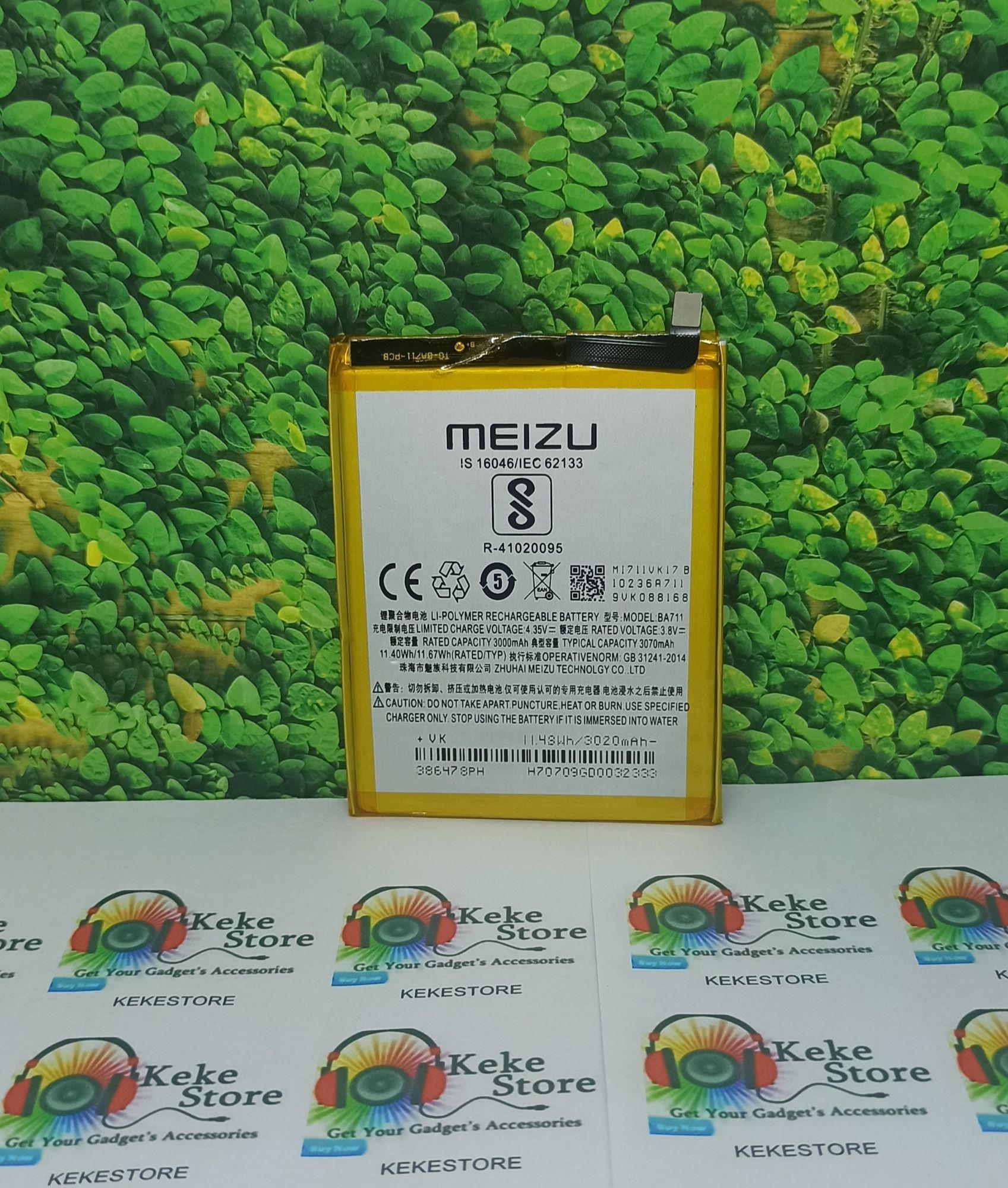baterai original meizu m6 5.2 ba711 battery batre baterai
