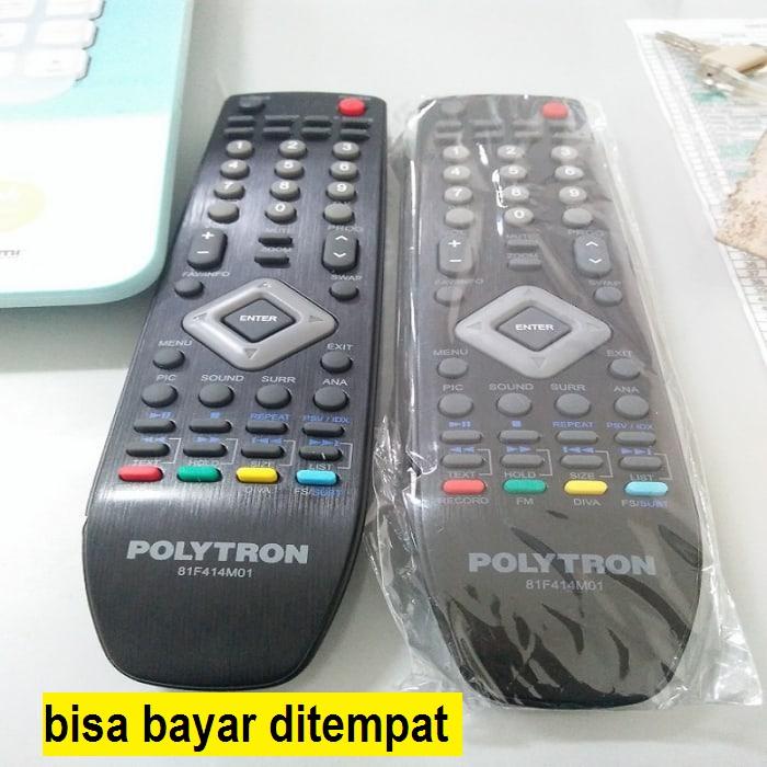 remote control remote tv tivi polytron politron original asli lcd led_stoserba