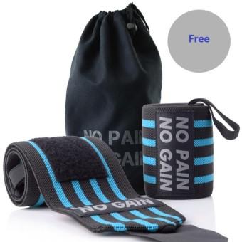 ... Band Olahraga Gym Melindungi. Source · 1 Pair Pergelangan Tangan Penyangga Sarung Tangan Bungkus Tangan Bar Straps untuk Angkat Besi Peralatan Kebugaran