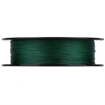 epayst 100m PE Braided 4 Strands Super Strong Fishing Lines Multi-filament Fish Rope Cord Green (0.6)