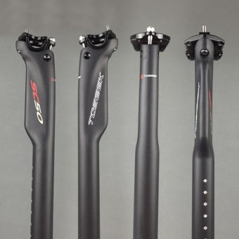 2016 NEW TOSEEK SC50 3K matte Carbon Fiber Mountain Road Bicycle seatpost bike seat post 27.2