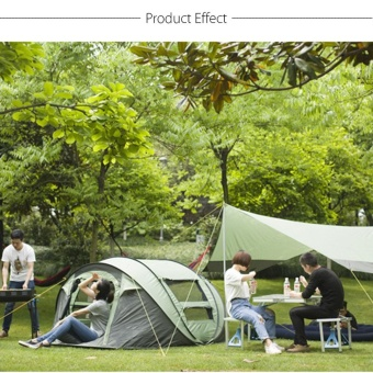3-4 Person Camping Pop Up Tent Waterproof Hydraulic Automatic Outdoor Hiking - intl