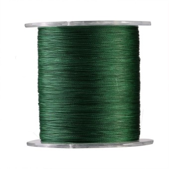 epayst 300m PE Braided 4 Strands Super Strong Fishing Lines Multi-filament Fish Rope Cord Green (0.6)